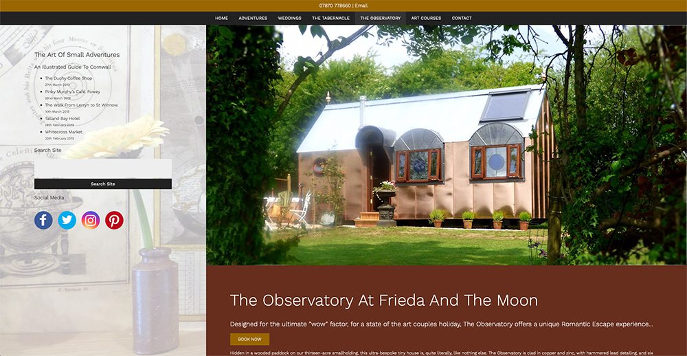 Romantic Holiday In Cornwall   Luxury Glamping   Frieda & The Moon